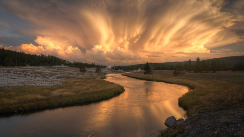 35 Most Spectacular National Parks On Earth - Firehole River, Yellowstone National Park