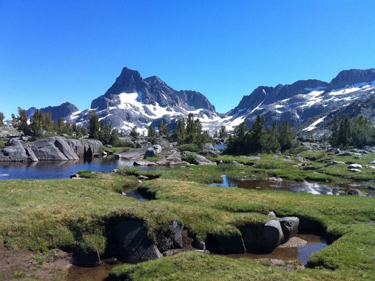 7.) John Muir Trail