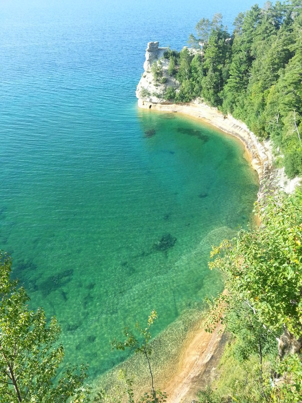 16.) Pictured Rocks National Lakeshore