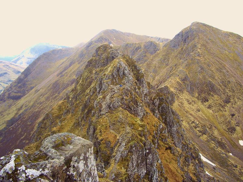 12 - 25 Most Treacherous Hiking Trails in the World - Aonach Eagach Ridge, Scotland