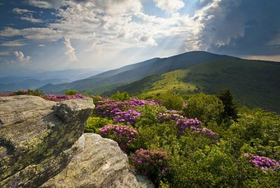Trekking the Appalachian Trail will lead you to beautiful vistas