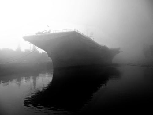 7) USS Hornet - haunted