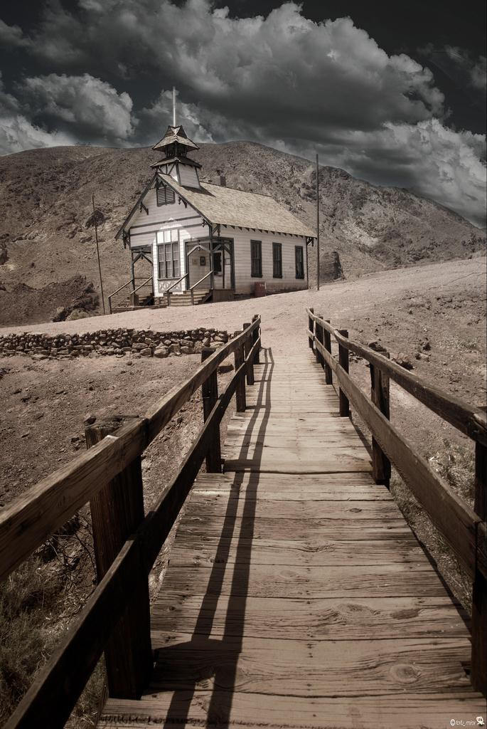 2) Calico Ghost Town - Haunted Camp Sites in California