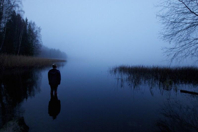 Desolate souls and haunted spirits at a California Lake
