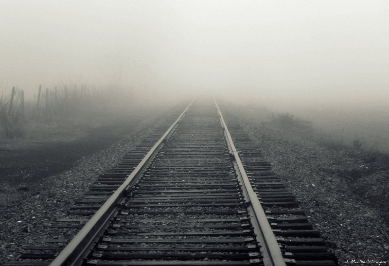 8 -Summit Township Railroad Tracks - 10 Most Haunted Hikes in Pennsylvania