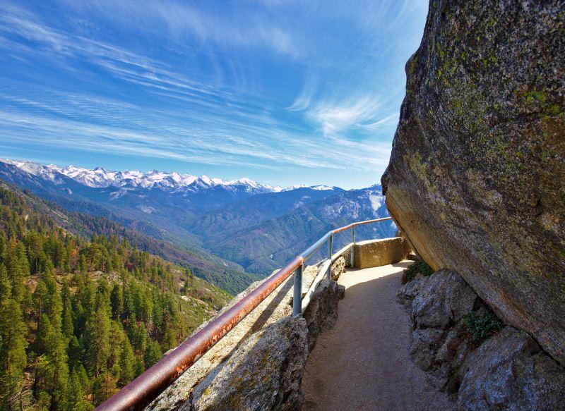 5 - Moro Rock - 10 Best Hidden Hikes In California