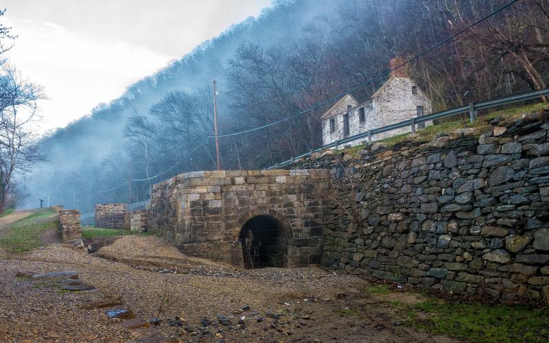 20) Maryland - Gold Mine Trail Chesapeake & Ohio Canal National Historic Park - Haunted Hiking Trails 50 States