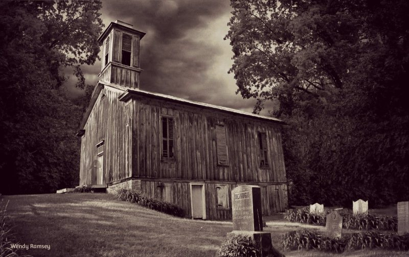 38) Pennsylvania - Egg Hill Church, Potter Township - Haunted Hiking Trails 50 States
