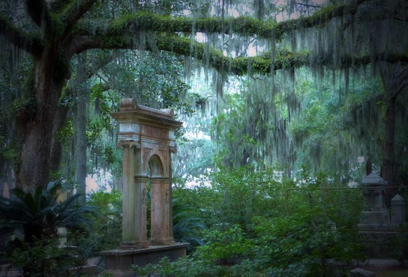 10) Georgia - Bonaventure Cemetery Savannah - Haunted Hiking Trails 50 States