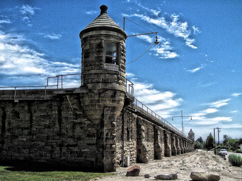 12) Idaho - Idaho State Penitentiary Boise - Haunted Hiking Trails 50 States