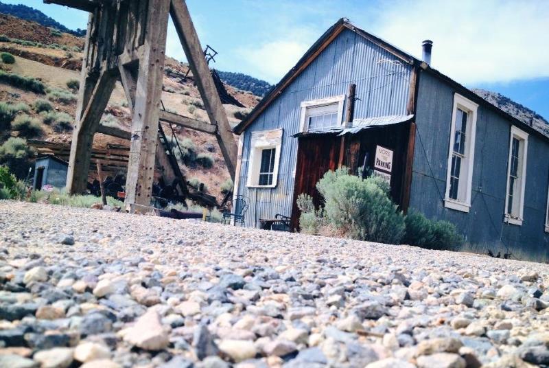 28) Nevada - Yellow Jacket Mine Virginia City - Haunted Hiking Trails 50 States