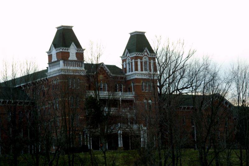 35) Ohio - Athens Lunatic Asylum Athens - Haunted Hiking Trails 50 States