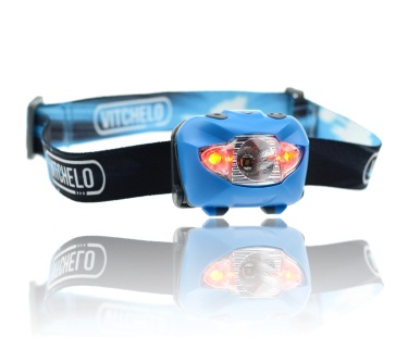 Vitchelo V800 - best backpacking headlamps