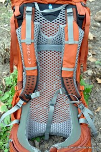 osprey atmos 65 ag review - suspension