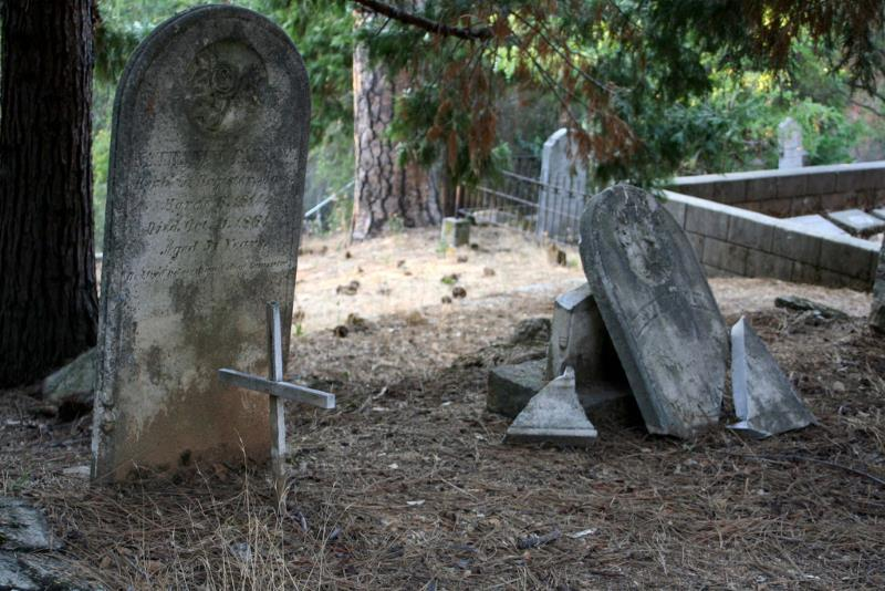 5 - Pioneer Cemetery, Placerville - 10 Haunted Cemeteries California