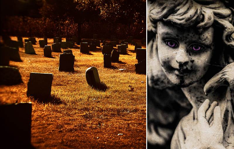 Title - 10 Most Haunted Cemeteries in California