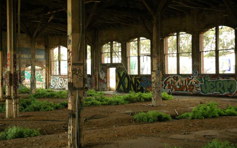 10 - Bayshore Roundhouse, Brisbane - Paranormal Abandoned Buildings In California