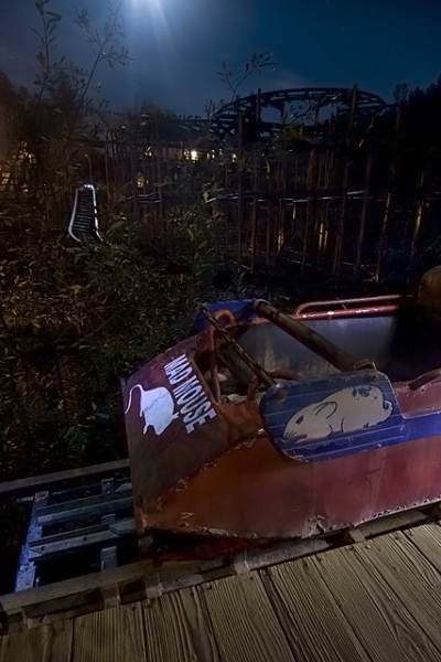 6 - J's Amusement Park, Guerneville - Paranormal Abandoned Buildings In California