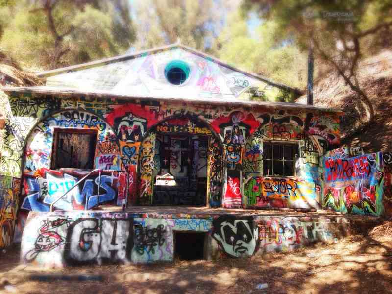 5 - Nazi Compound, Los Angeles - Paranormal Abandoned Buildings In California