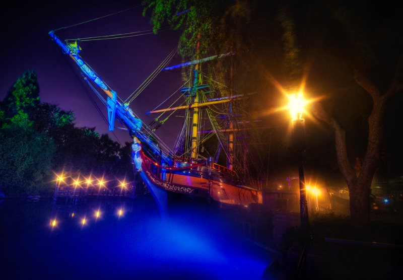 Disneyland Columbia Ship