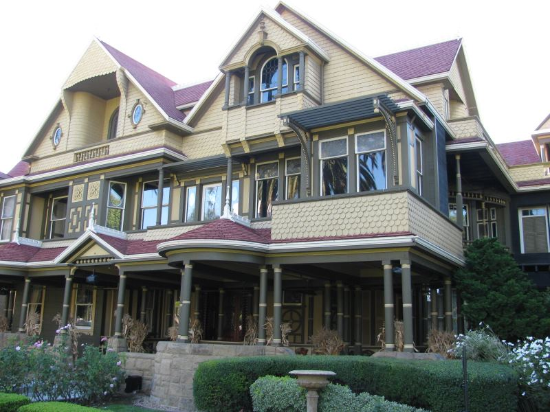 The Winchester Mystery House in San Jose California