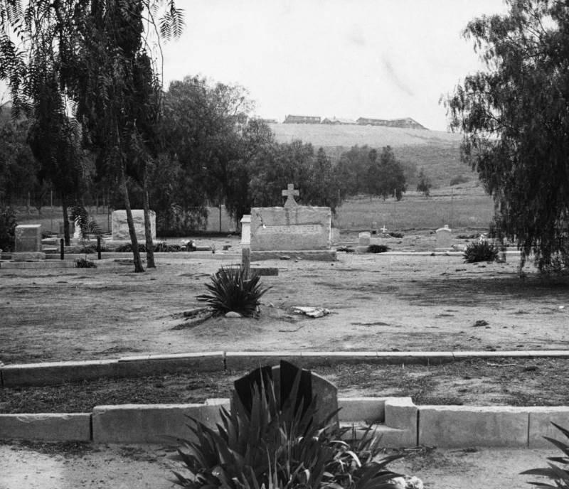 10 - Yorba Cemetery – Pink Lady, Yorba Linda - California Cemeteries Vampires
