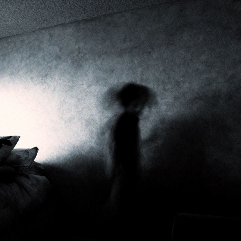 ghost in bedroom