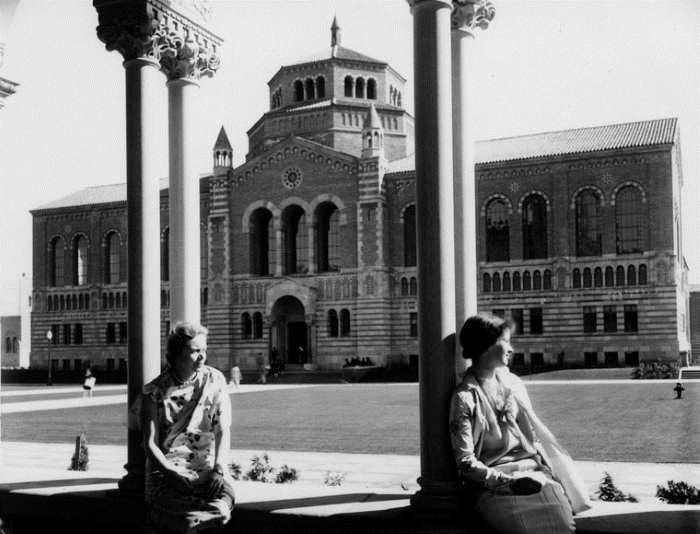 UCLA campus - University of California at Los Angeles