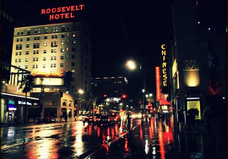 Roosevelt Hotel Room