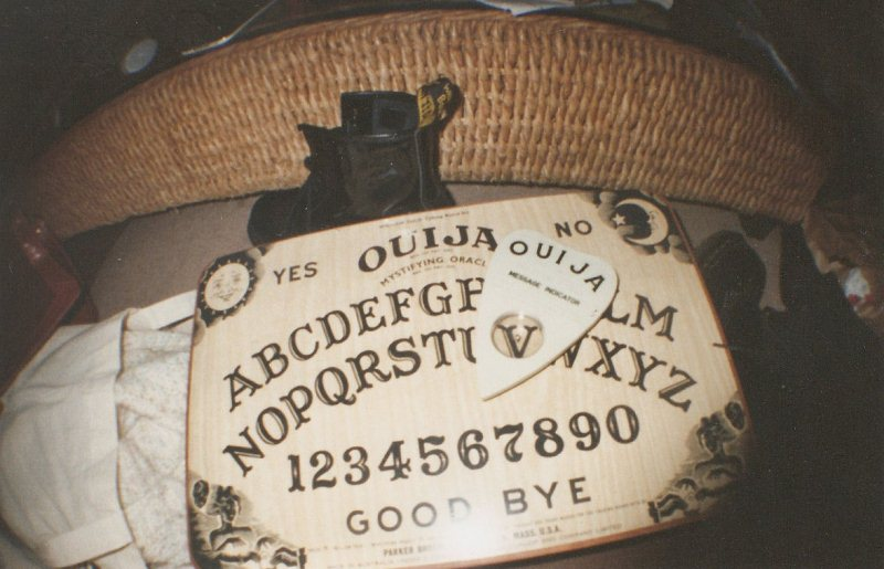Ouija board vintage photo
