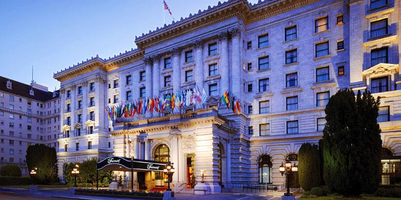 Fairmont Hotel in San Francisco