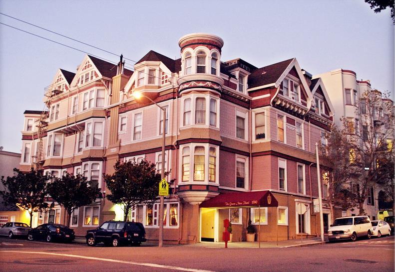 Queen Anne Hotel in San Francisco