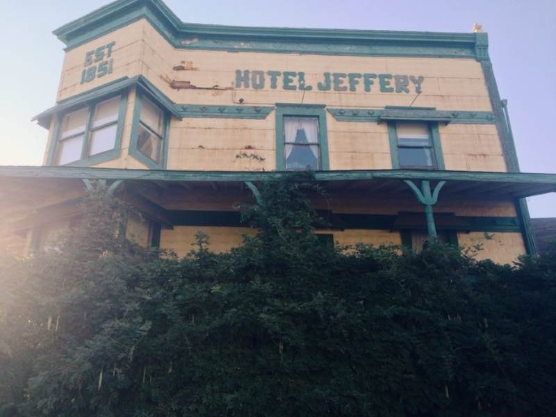 Hotel Jeffery, Coulterville, CA