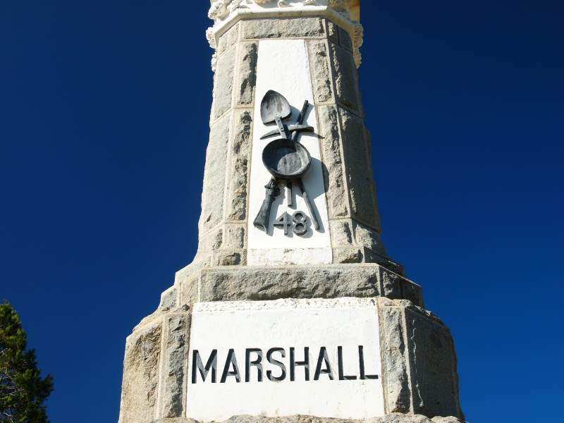 Marshall's Monument, Coloma, CA