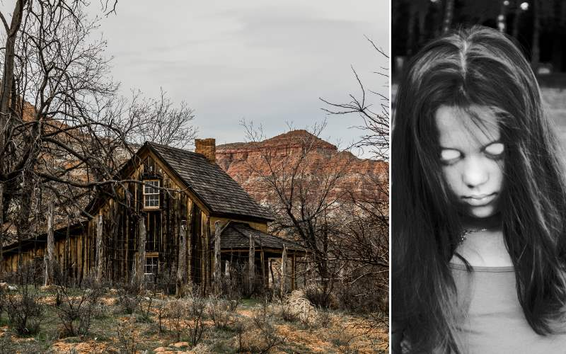 Haunted Ghost Town in Utah