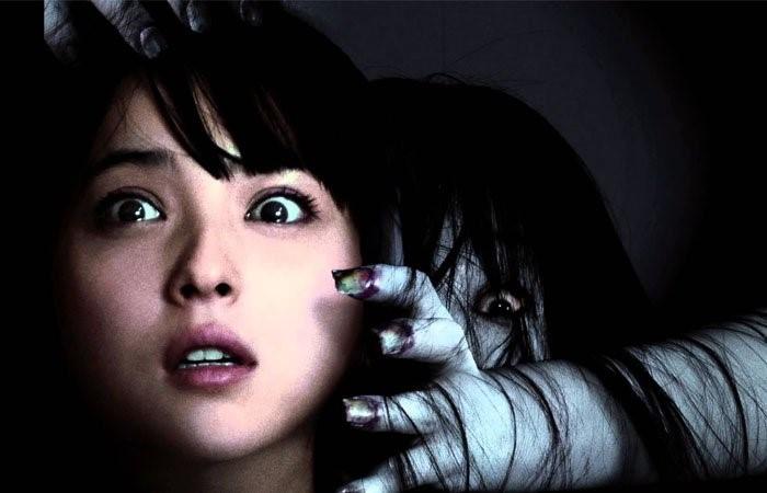 The creepy horror movie; The Ring