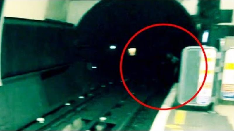 Watch: Ghost Caught on Camera in London Underground?