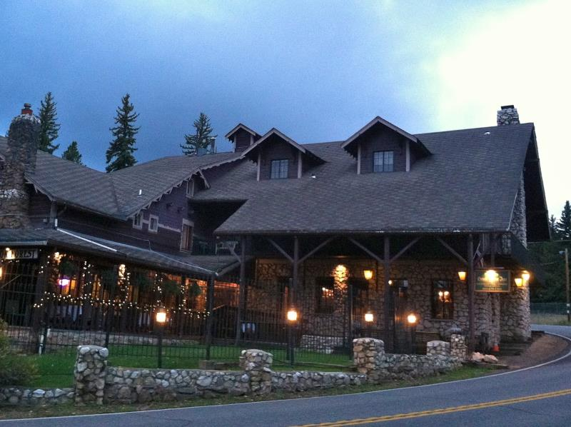 The haunted Brook Forest Inn in Colorado