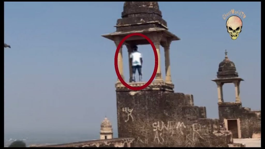 Ghost spotted at Indian temple. Real ghost or fake haunted stuff?