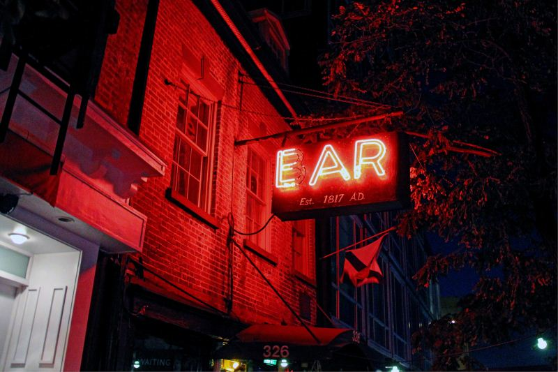 The haunted Ear Inn in New York City