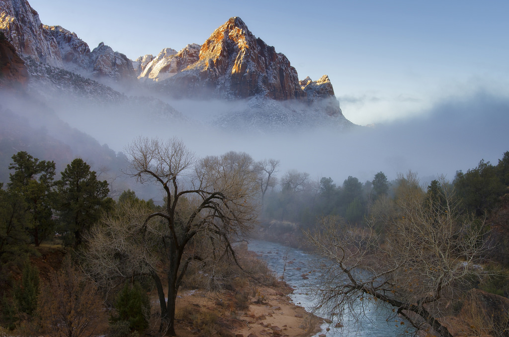 Zion National Park may be the most haunted place in Utah due to haunted campground, ghosts, spirits, and more