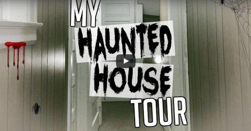 Watch: A Haunted Tour Through A Real Haunted House