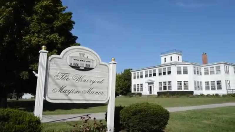 Winery at Marjim Manor in New York
