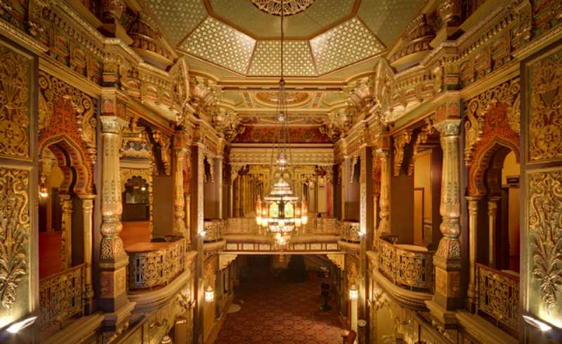 The beautiful and haunted Landmark Theatre in New York