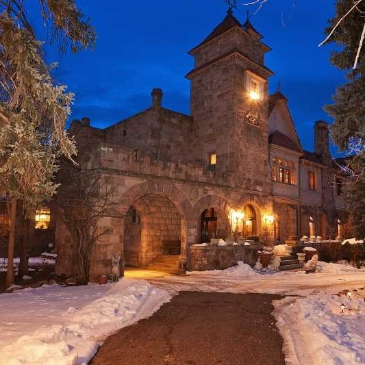 The haunted Richthofen Castle in Colorado