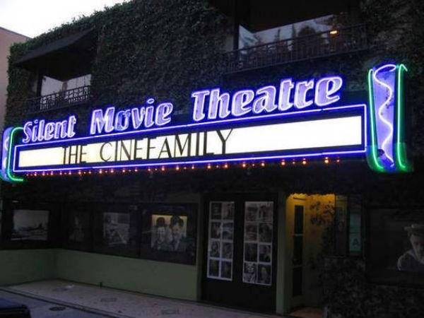 The Haunted Silent Movie Theatre in Los Angeles California