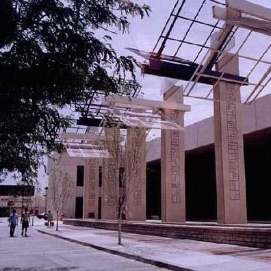 The haunted El Paso Museum of Art in El Paso, Texas.