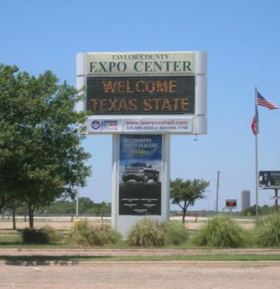 The Taylor County Expo Center in Abilene Texas. The spectral activity here is centered around the old cow barn