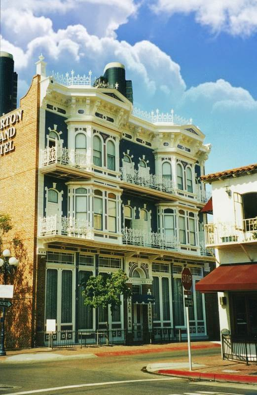 The Horton Grand Hotel in San Diego is one of the most haunted hotels in Southern California...