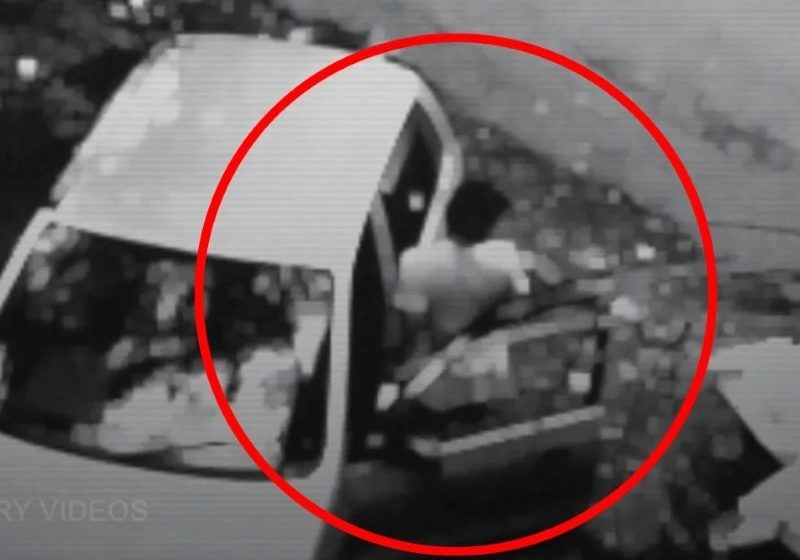 This CCTV Camera Footage Shows a Ghost Pushing a Teenage Boy Into a Car